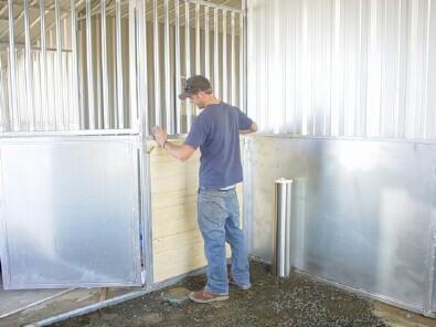 Breezeway Barns From High Desert Barns